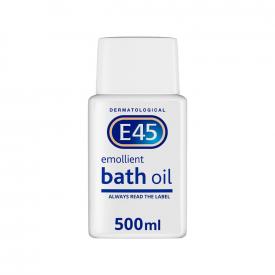 E45 Emollient Bath Oil – 500ml
