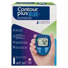 Contour Plus Blue Glucose Meter