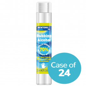 Newton's Antibacterial Rubbing Alcohol 25ml - Case of 24
