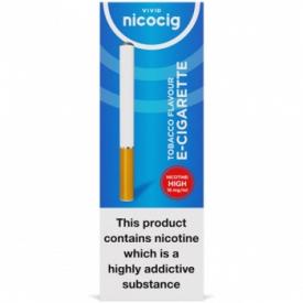 Nicocig Regular Tobacco Flavour High Strength E-Cigarette - 16mg