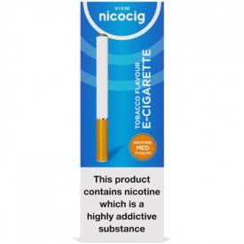 Nicocig Regular Tobacco Flavour Medium Strength E-Cigarette - 11mg