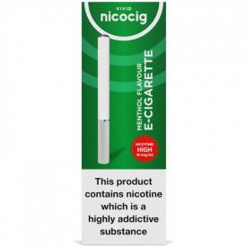Nicocig Regular Menthol Flavour High Strength E-Cigarette - 16mg