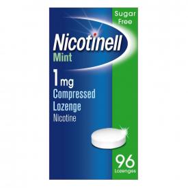 Nicotinell Mint 1mg Lozenge - 96 Lozenges