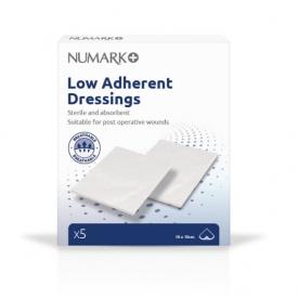 Numark Low Adherant Dressings 5 Pack