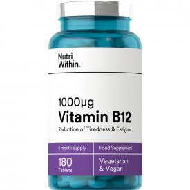 Nutri Within Vitamin B12 1000IU - 180 Tablets