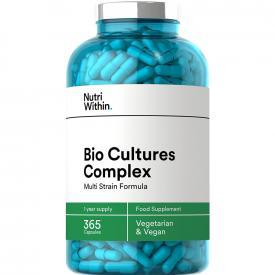 Nutri Within Bio Cultures Complex - 365 Capsules