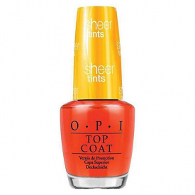 OPI I'm Never Amberrassed Top Coat Nail Polish - 15ml