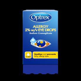 Optrex Allergy Eye Drops 2% w/v - 10ml