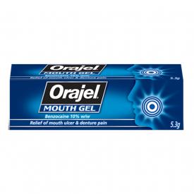 Orajel Mouth Gel - 5.3g