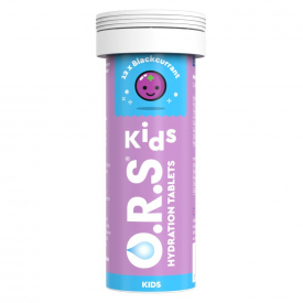 ORS Kids Hydration Blackcurrant - 12 Tablets