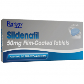 Perrigo Sildenafil 50mg - 4 Tablets