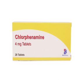 Chlorphenamine (4mg) - Hay Fever & Allergy Relief - 336 Tablets (Brand May Vary)