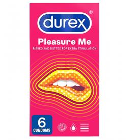 Durex Pleasure Me - 6 Condoms