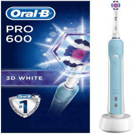 Oral-B Pro 600 3D White Electric Toothbrush