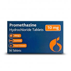Promethazine Hydrochloride - 56 x 10mg (Brand May Vary)