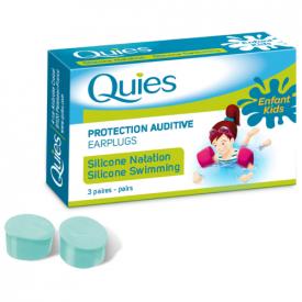 Quies Silicone Child Ear Plugs - 3 Pairs