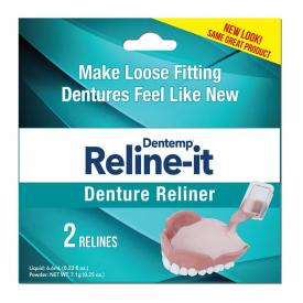 Dentemp Reline-it Denture Reliner Kit