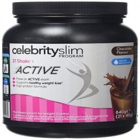 Celebrity Slim Active Shake 840g - Chocolate