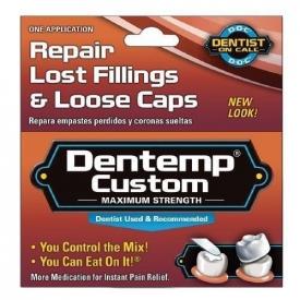 Dentemp Custom Repair Lost Tooth Fillings & Loose Caps Kit