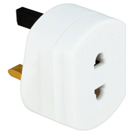 Electric Shaver Adapter Plug UK