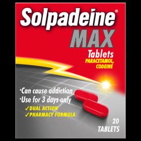 Solpadeine Max (Codeine/Paracetamol) - 20 Tablets