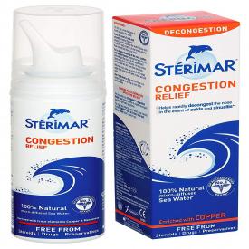 Sterimar Congestion Relief Sea Water Nasal Spray 100ml (Formally Hypertonic)
