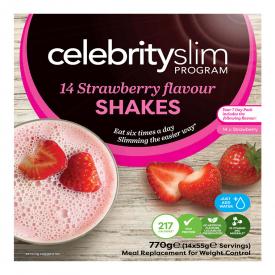 Celebrity Slim Strawberry 7 Day Pack - 14 Shakes