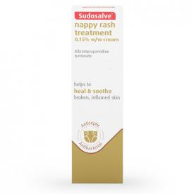Sudosalve Nappy Rash Treatment 0.15% Cream - 25g