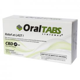 Symtomax CBD Oral Tabs Berry Mint Flavour - 30 pieces