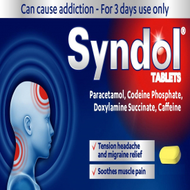 Syndol - 10 Tablets