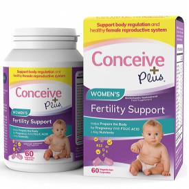 Conceive Plus Women's Fertility Support - 60 Capsules