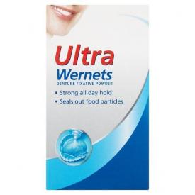 Ultra Wernets Denture Fixative Powder - 40g