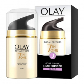 Olay Total Effects 7-in-1 Anti-Ageing Night Firming Moisturiser - 50ml