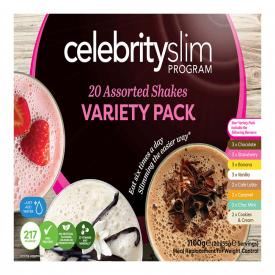 Celebrity Slim Variety Pack - 20 Shakes