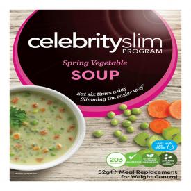 Celebrity Slim Soup Sachet - Spring Vegetable Soup
