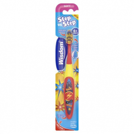 Wisdom Step By Step Toothbrush - 6-8 Years