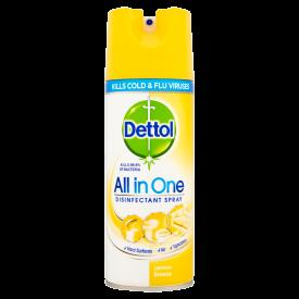 Dettol All In One Disinfectant Spray Lemon Breeze - 400ml