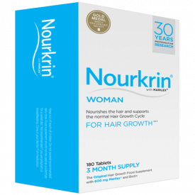 Nourkrin Woman For Hair Growth - 180 Tablets